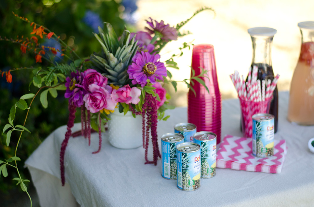 palm springs tropical flower party by verbena