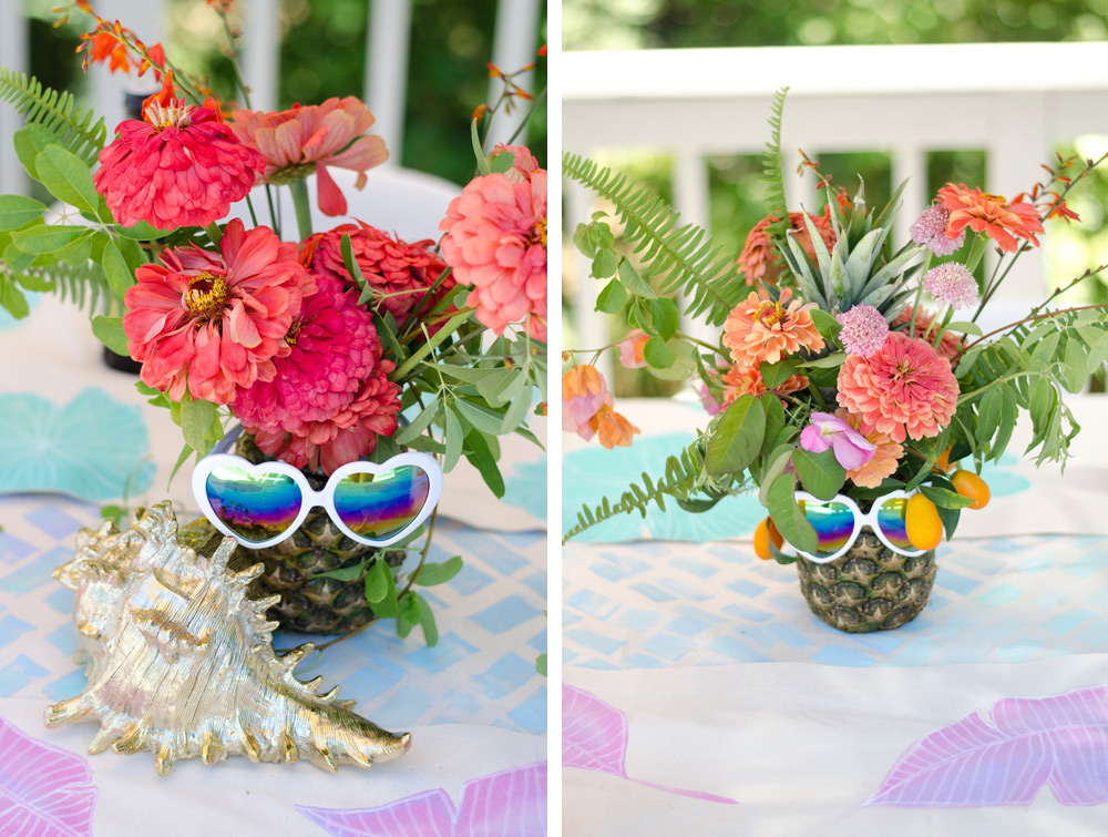 Palm springs summer party verbena living palm springs tropical flower party by verbena mightylinksfo