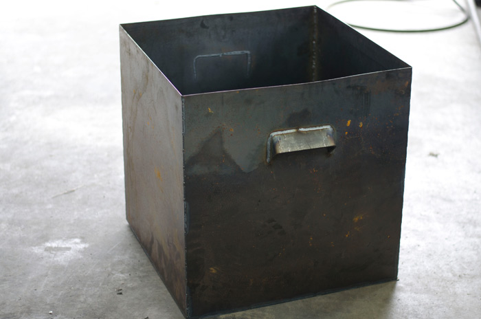 sacramento fabricator and maker metal planter box