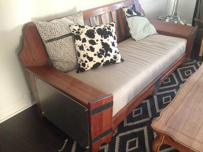 diy mid century couch restoration fixer upper