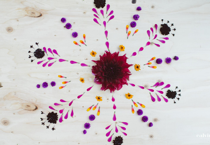 flower mandala art flower stylist