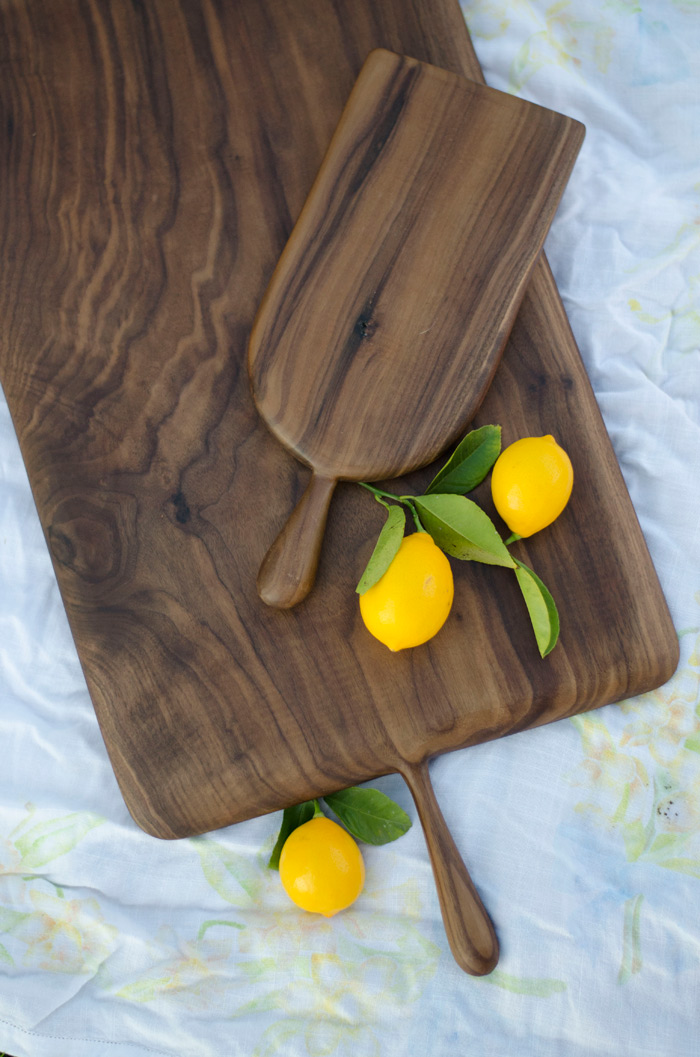 maker movement hand made walnut cheese and cutting boards unique